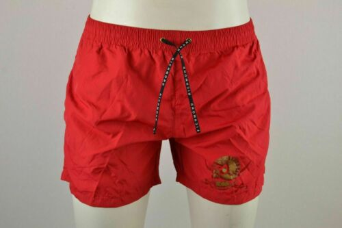 JOHN RICHMOND BOXER Herren Badehose Bade Hose Boardshorts shorts Rot