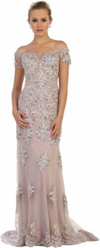 SPECIAL OCCASION FORMAL PROM QUEEN GOWN EVENING RED CARPET DRESS PAGEANT SALE