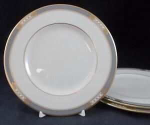 Lenox-McKINLEY-3-Bread-amp-Butter-Plates-GREAT-CONDITION