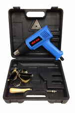 HOT AIR HEAT GUN 2000W WALL PAPER PAINT STRIPPER +TOOLS + BLOWCASE