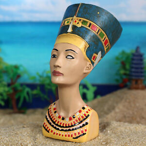 Details about Ancient Egyptian Queen Nefertiti Figurine Egpyt Statue Home  Decor Collection New