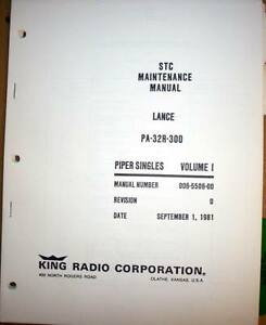 s l300 kfc 200 autopilot in piper lance pa 32r 300 service manual ebay kfc 200 autopilot wiring diagram at alyssarenee.co