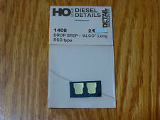 Detail Associates HO #1408  Drop Step - ALCO Long RSD Type (2pcs in pkg)