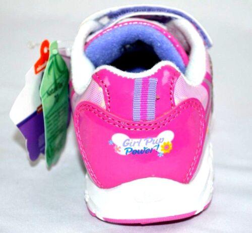 "New Toddler Girl/'s Paw Patrol /""Flower Run /"" Light Up Sneakers Nickelodeon"