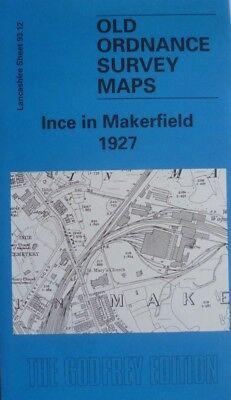 Old Ordnance Survey Detailed Maps Redditch West Worcestershire 1903 Godfrey Edit