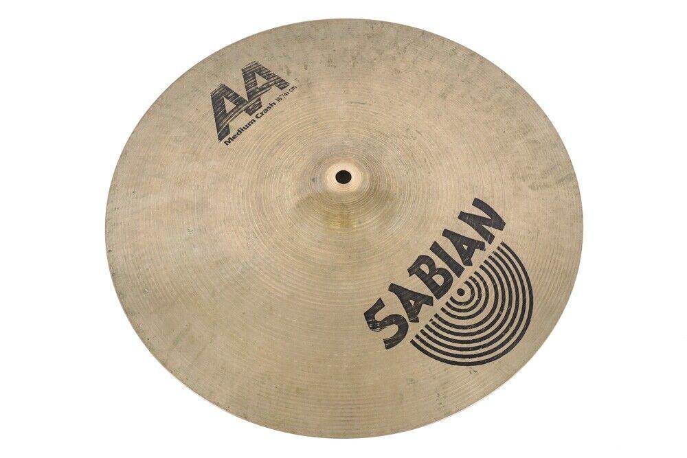 """Sabian AA 16"""" Medium Crash Cymbal"""