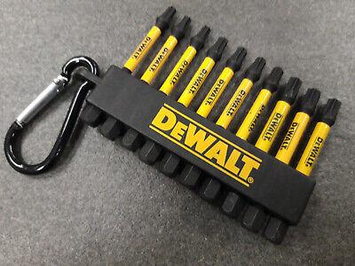 DeWALT DT7275 /& DT7276 DOPPEL SET  POZI /& TORX je10 teilig an Karabiner super