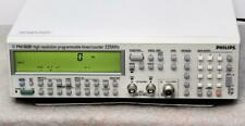 Philips Pm6680b 711 High Resolution Programmable Timercounter 45 Ghz Tested