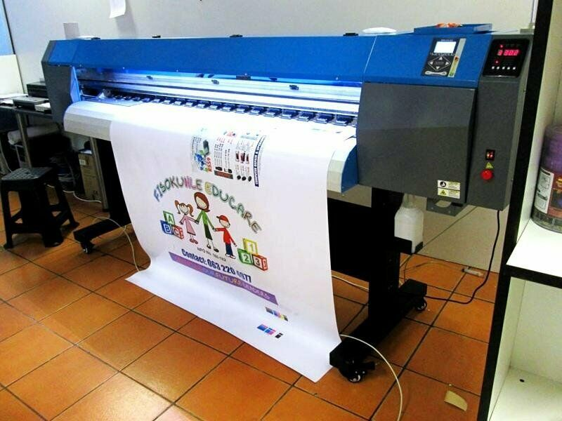 F-1866/AQUA FastCOLOUR 1860mm EPSON DX7 Printhead Large-Format Water Based Dye or Pigment