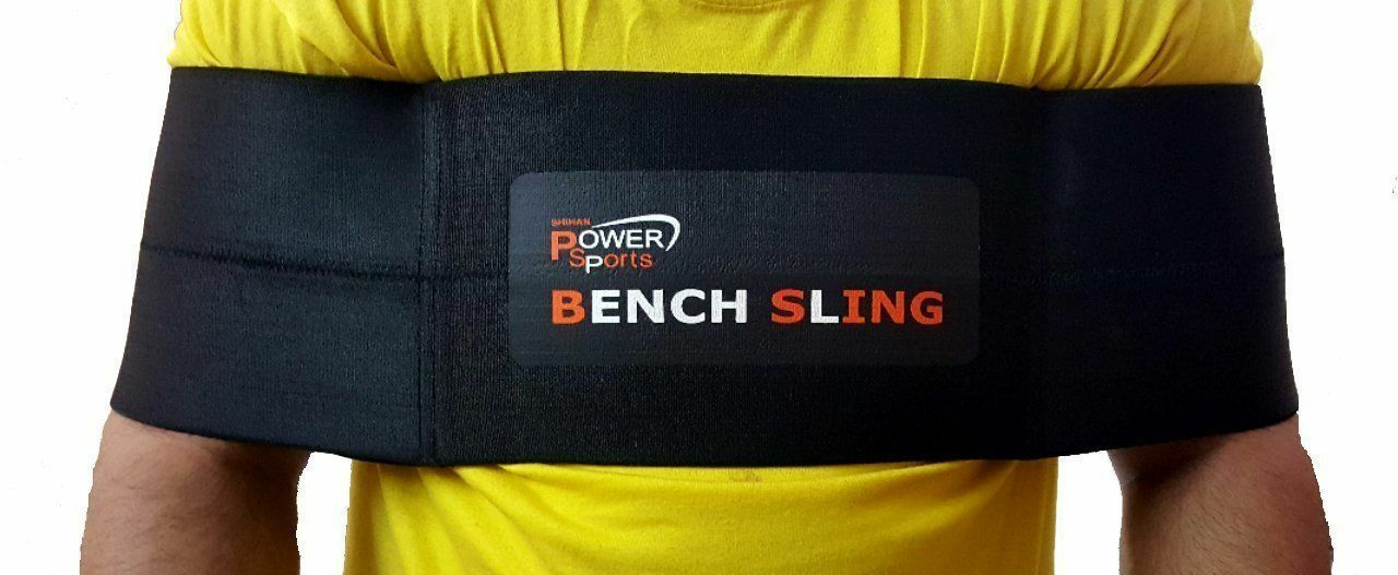 Push Up BENCH SLING Straps Power Lifting Weightlifting Bench Press Sling Shot L