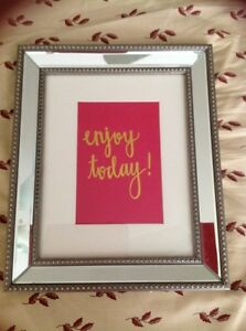 Sheffield Home Picture Frame 8 X 10 New Great Message