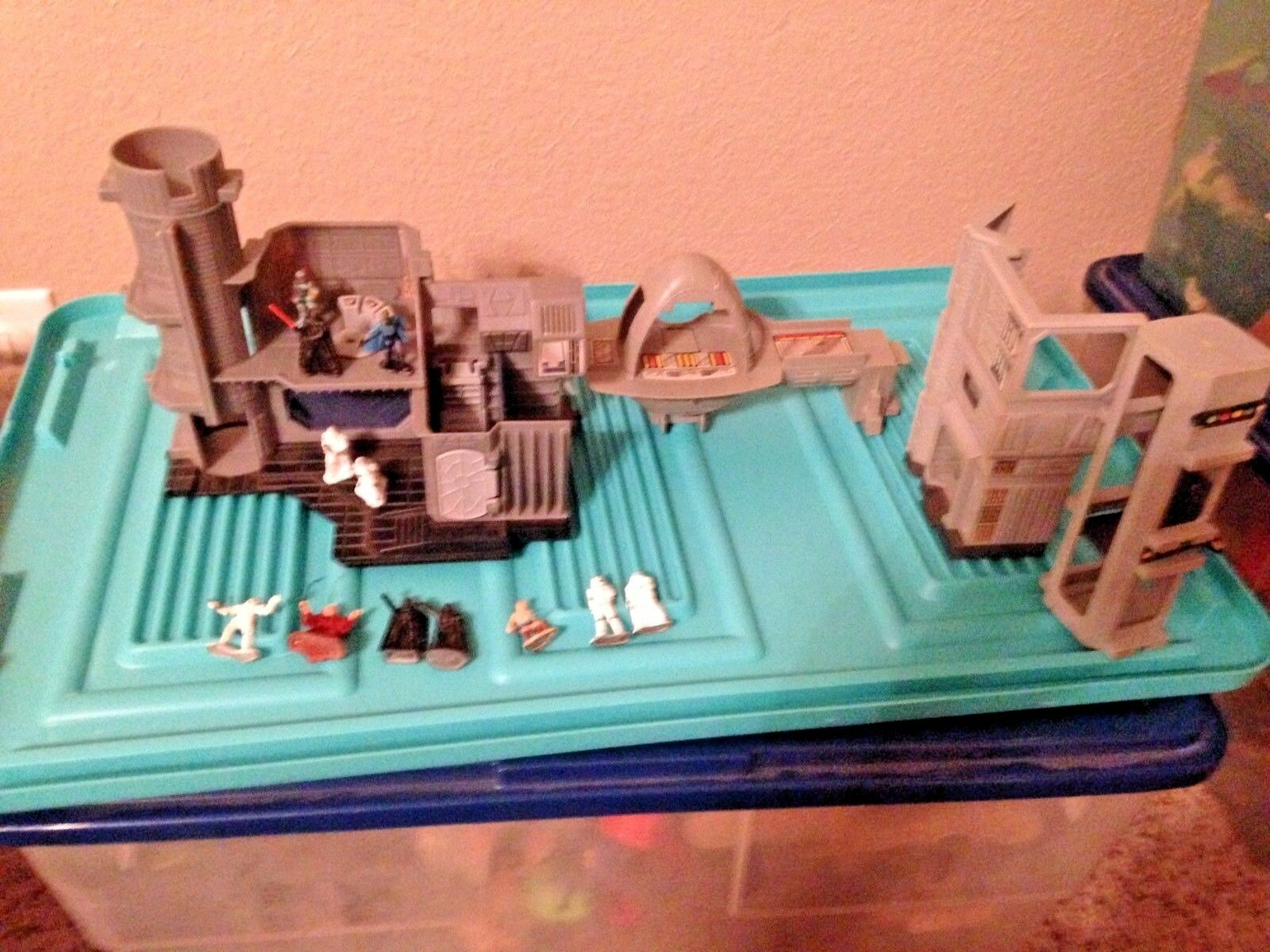 Star Wars Micro Collection playsets and figures Cloud City Death Star