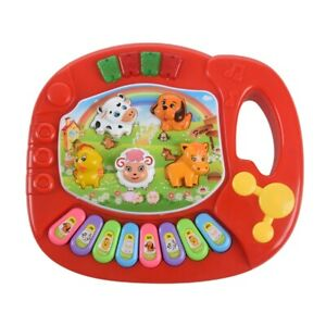 Baby-Kids-Musical-Educational-Animal-Farm-Piano-Developmental-Music-Toy-T9W2