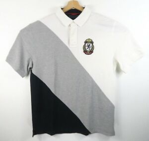 Vintage-Tommy-Hilfiger-Shirt-Polo-Rugby-Size-XL-Mens-Short-Sleeve-Crest
