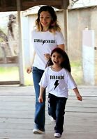 2 Shirts- Funny Tornado And Storm Chaser ™ Mommy And Me Set Rock Star Acdc Shirt