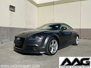 2012 Audi TT *AWD*S-LINE*NAVI*POWER SPOILER*SUEDE HEATED SEATS