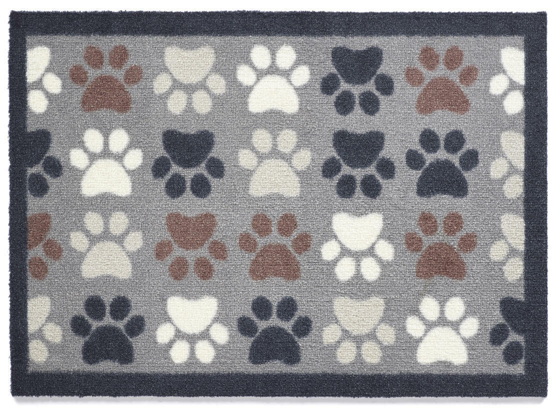 Dispositivo E d'allarme & Scratch 50x150cm (Multi Paw 3) PORTA E Dispositivo Tappeto Lavabile in lavatrice 4db025