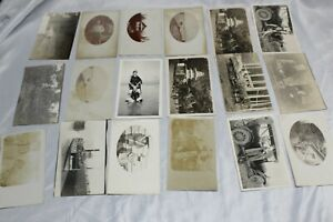 18-vintage-photo-postcards-dating-back-to-early-1900-039-s-all-in-unsent-condition