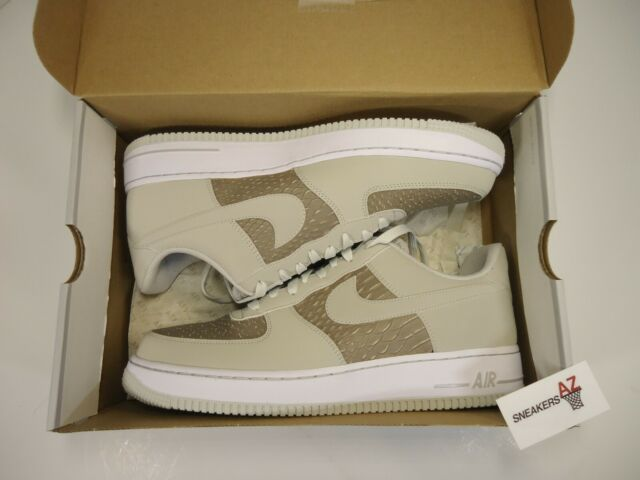 Nike Air Force 1 Low Light Ash Grey DS New Size 11 488298 055 + Receipt