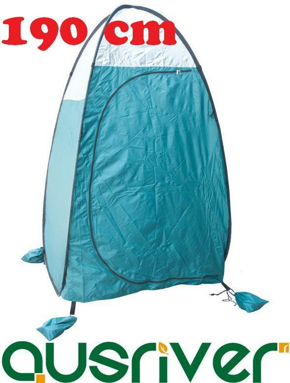 Pop Up Portable Toilet Change Room Shower Tent Camping Hiking Flip Out 190cm