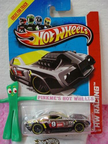 Case B//C 2013 Hot Wheels HOLLOWBACK #148 US Team∞Chrome∞HW Racing Track Stars