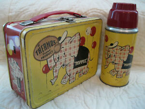 LARGEST-RARE-VINTAGE-METAL-LUNCHBOX-COLLECTION-TOPPIE-AND-ALL-THE-REST