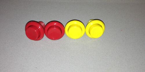 Atari APB Button Set **NEW** Leaf Style Buttons