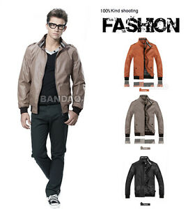 Men-039-s-jacket-brand-Fashion-outwear-zip-casual-coat-spring-and-autumn-overcoat