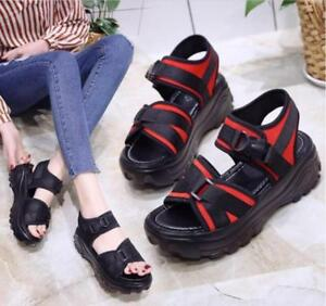 Fashion-Women-Summer-New-Thick-Sole-Sports-Sandals-Pump-Comfortable-Casual-Shoes