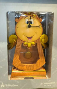 Disney-Parks-Beauty-and-the-Beast-Cogsworth-Clock-10-034-Working-Clock-Figurine-NEW