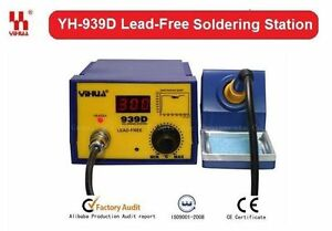 YIHUA-Original-Digital-Soldering-Station-SMD-Rework-Solder-Iron-YH-939D-AU-939D