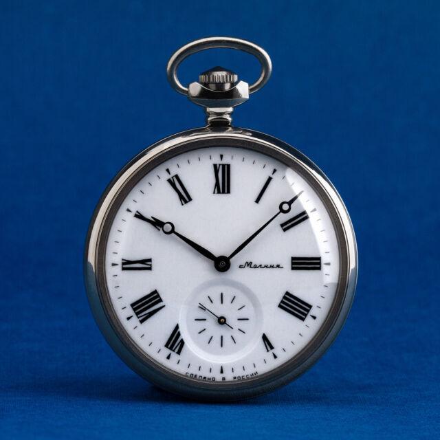 Molnija Reloj de Bolsillo 3602 Ruso Mecánico Reloj Signo Del Zodiaco