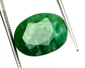 Emerald-Green-Loose-Gemstone-7-20-Ct-Natural-Oval-Cut-13-x-10-mm-Colombian