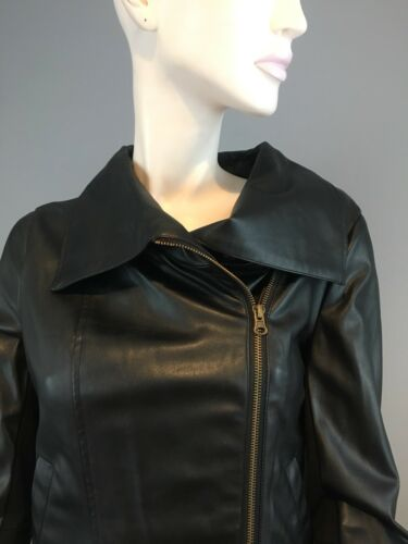 Orig Cynthia Small Vincent 398 Black Twelfth Jacket Street Moto af Nwt Størrelse qwvgt4