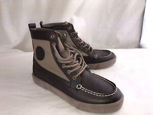 POLO Ralph Lauren Ronnie lace up boots women s 8 8.5M Big kids 6 ... 5cd08e3d3