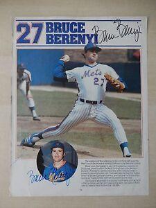 "Bruce Berenyi Autographed 8 1/2"" X 11"" Magazine Article"