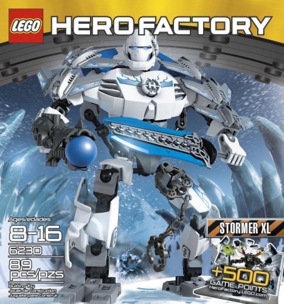 LEGO Hero Factory Stormer  XL 6230 nuovo IN FACTORY SEALED scatola  qualità di prima classe