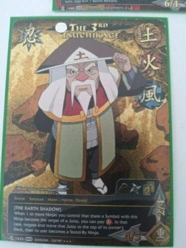 Naruto TCG//CCG - NM The Earth Shadow Sale Hard to find The 3rd Tsuchikage
