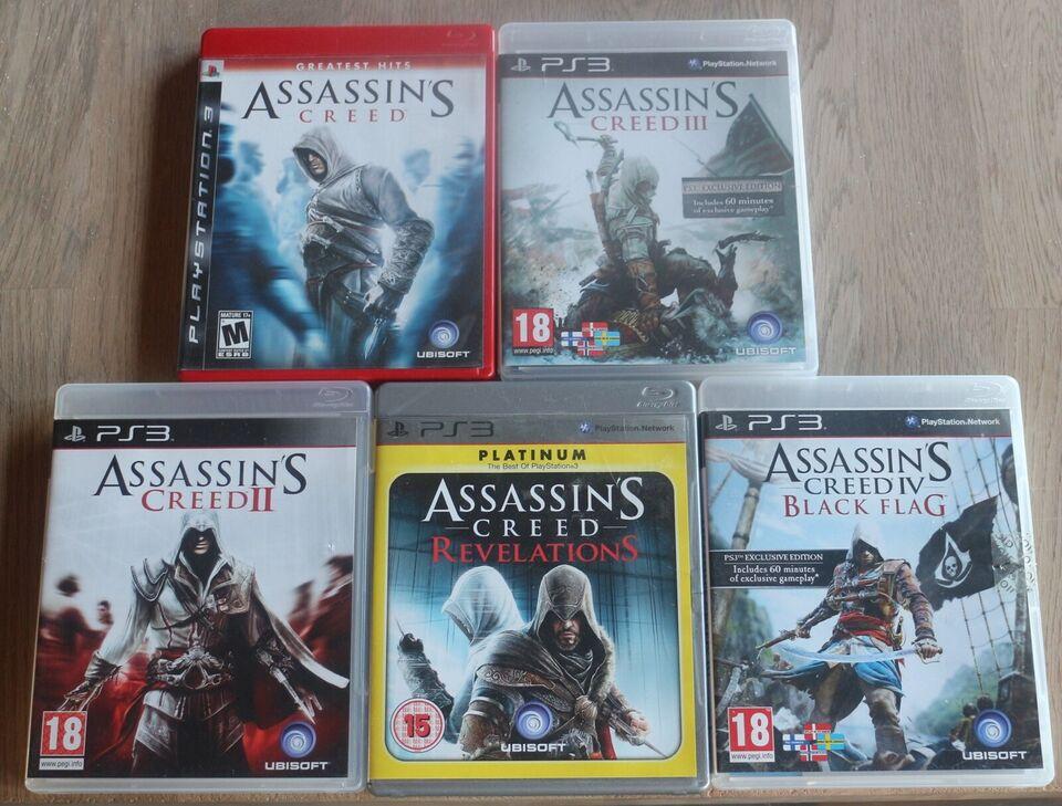 Flere titler, PS3