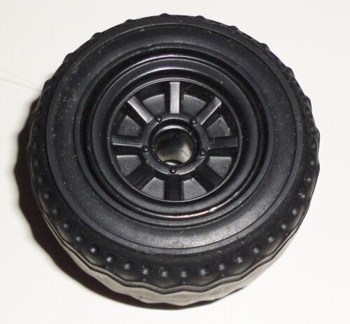 G I JOE PART 1986 Dreadnok Thunder Machine    Front Wheel with Tire