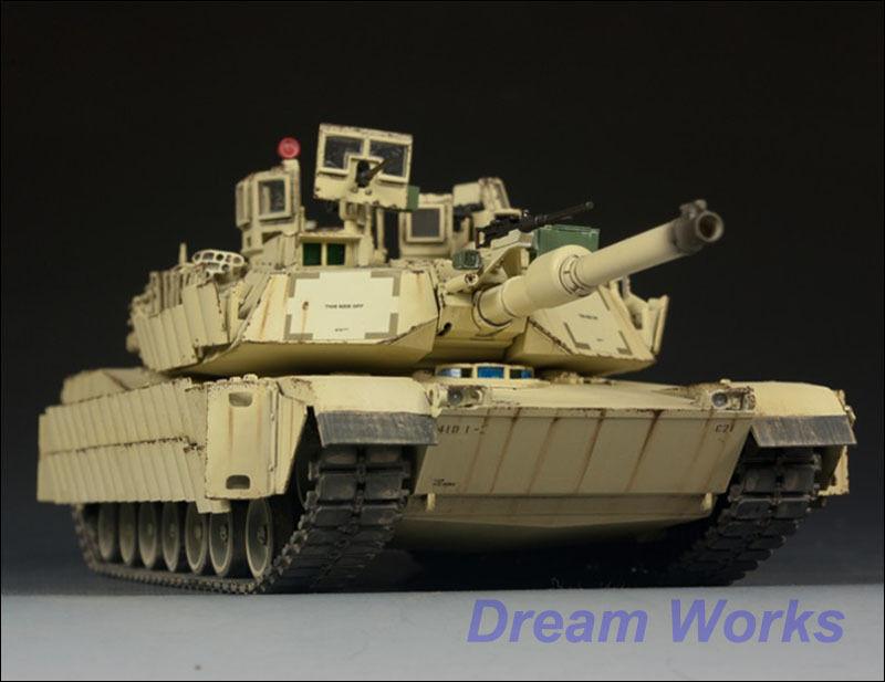 Ganador del premio construido Tamiya  M1A2 Sep Abrams Tusk II MBT Libertad iraquí