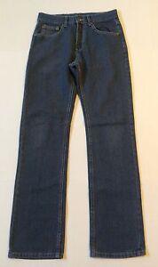 ROK-Men-039-s-Dark-Wash-Jeans-Size-28-X-32