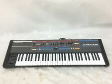 Roland Juno 106 Analog Synthesizer  Keyboard 61 key perfect working Black Analog
