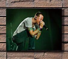 Chester Bennington Linkin Park Singer Art Hot 24x36in FABRIC Poster N3697