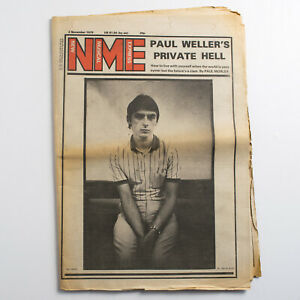 NME-magazine-3-November-1979-Paul-Weller-cover-The-Chords-Herman-Brood