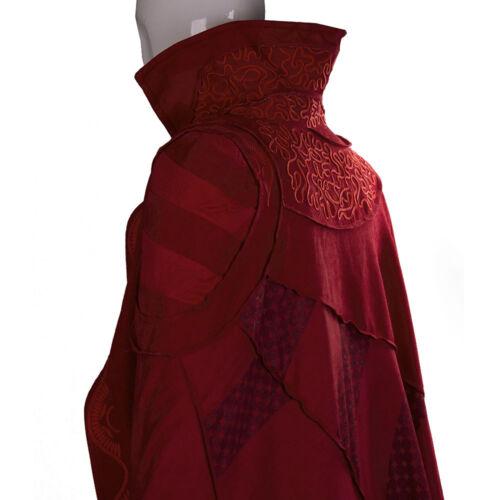 Doctor Strange Red Cloak Cosplay Avengers Infinity War Dr Steve Red Robe Costume