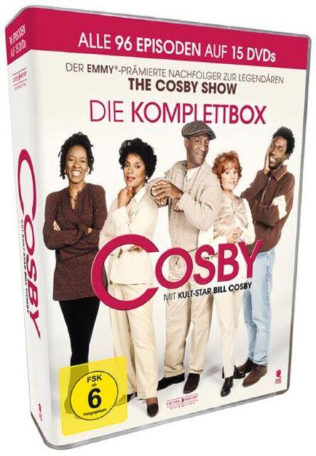 Cosby - Die Komplett-Box Staffel 1-4 Neu und Originalverpackt 15 DVDs