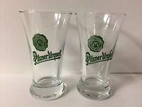 Pilsner Urquell Beer Czech Republic 2.5 Oz Tasting Shot Glass (2) & F/s