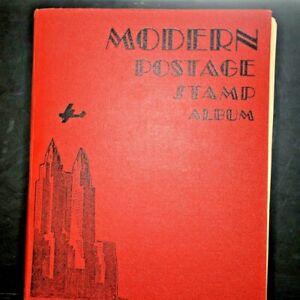CatalinaStamps-Modern-Postage-Stamp-Album-Scott-1933-w-3-000-Stamps-Lot-D44