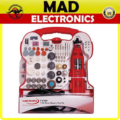 Micron 172 Piece 130W Rotary Tool Kit Gunpla Hobby Model Craft polishing grindin